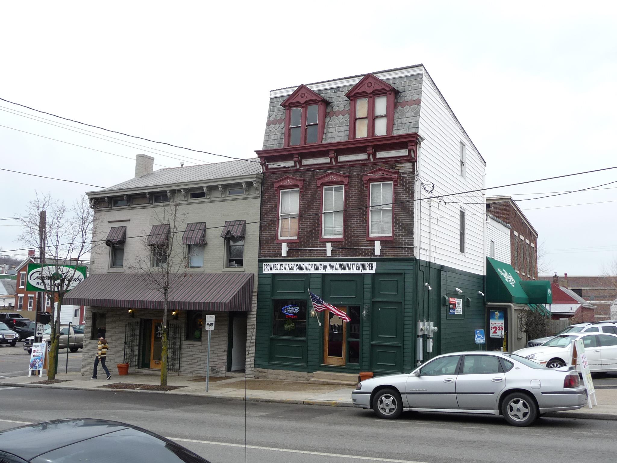 Newport Map Green Derby Restaurant